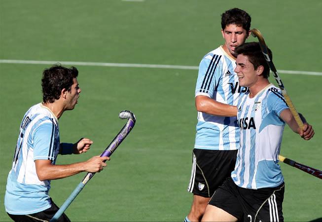 CAH - Argentina vs. Corea. (Foto: Matías Correa Arce)