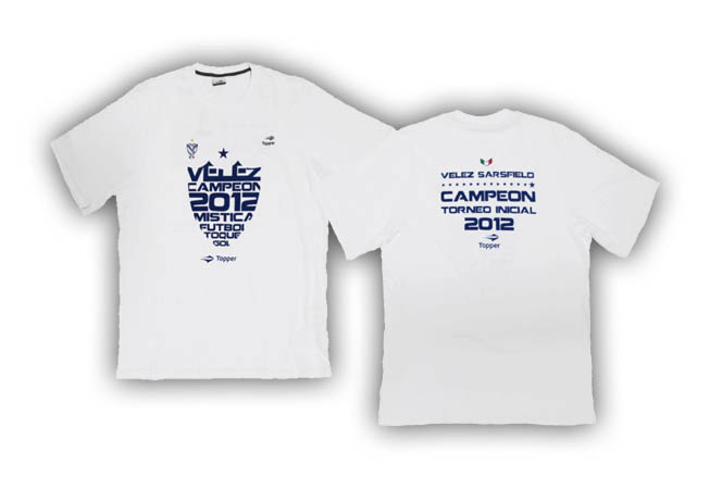 Topper - Remeras Vélez  Adulto