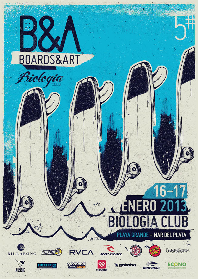 Billabong Boards And Arts 2013