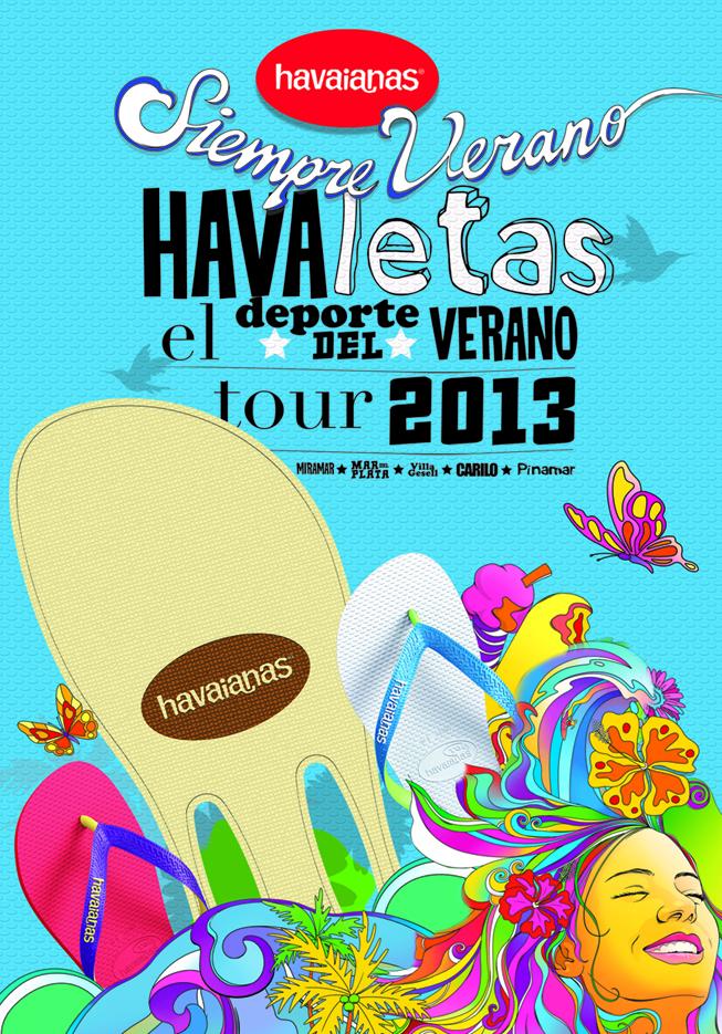 Havaianas Tour Havaletas