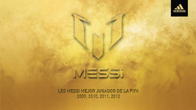 adidas - Messi Balón de Oro
