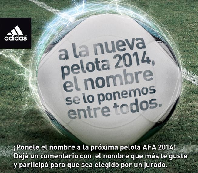 adidas - Pelota AFA 2014