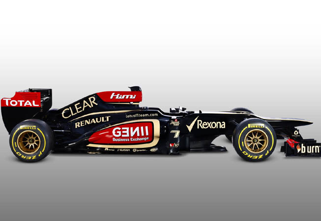 Clear - Lotus F1 Team