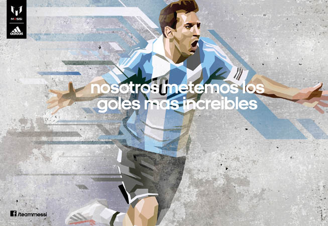 adidas - Team Messi