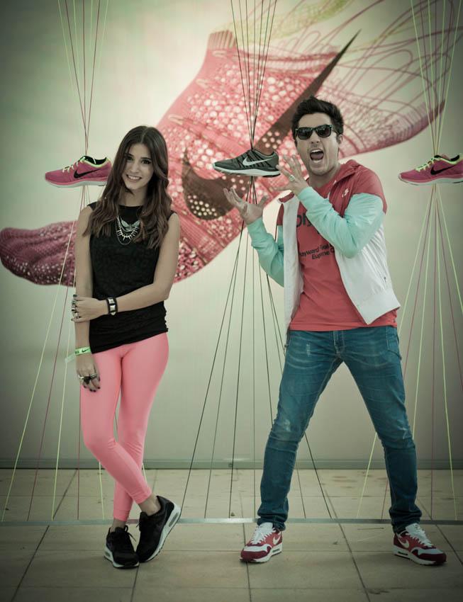 Nike She Runs 2013 - Agustina Cordova y Gabo Ramos.