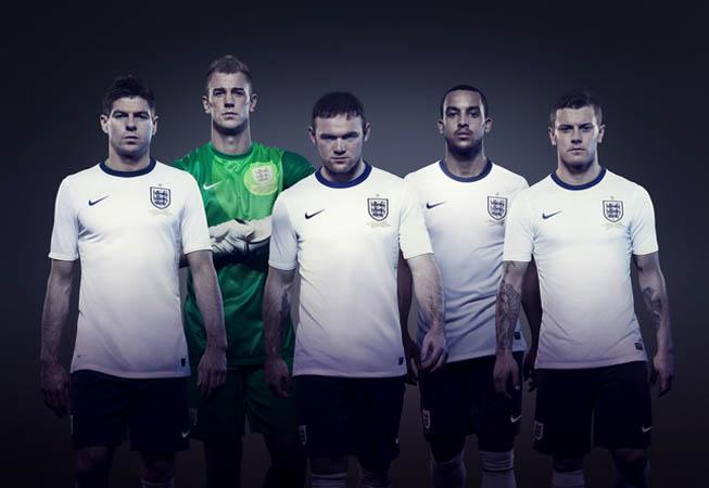 Nike - Camiseta Inglaterra 2013
