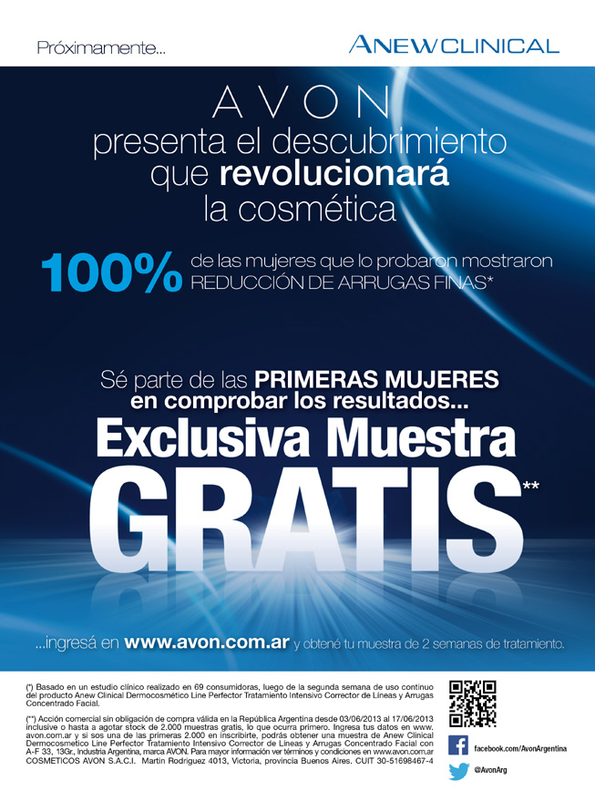 Avon - Anew Clinical