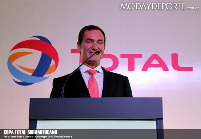 Copa Total Sudamericana - Pierre-Yves Sachet, Director de Total Marketing & Services en Américas.