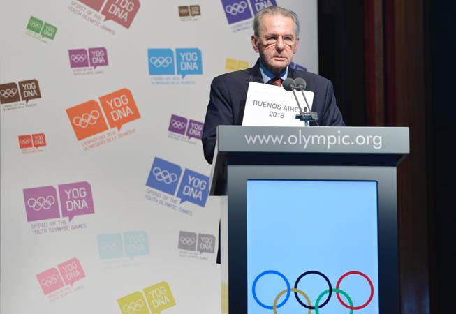Jacques Rogge. (Foto: R. Juilliart/COI).