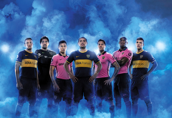 Nike - Boca 2013 - Jugadores