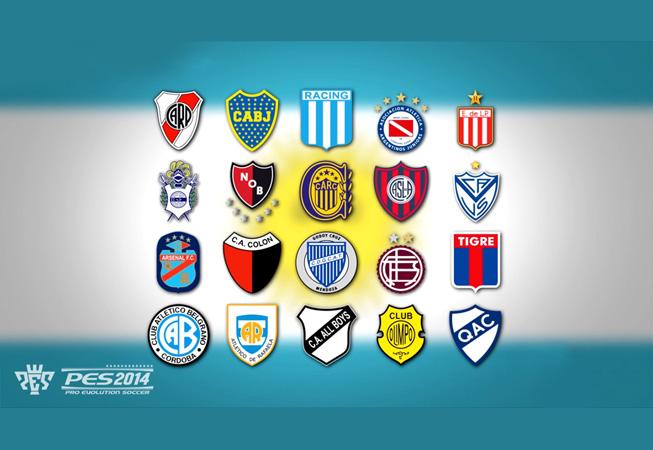 PES2014 - Liga Argentina