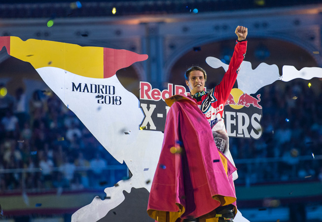 Red Bull - X Fighters Madrid - Thomas Pàges
