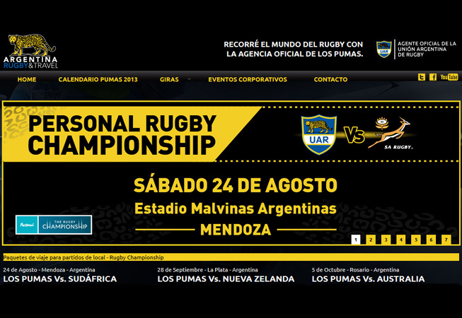 Argentina Rugby And Travel
