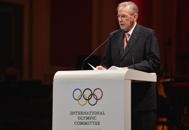 Jacques Rogge, presidente saliente del COI. (Foto: COI)