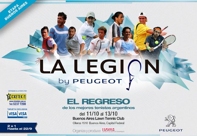 Peugeot - Tenis La Legión 2