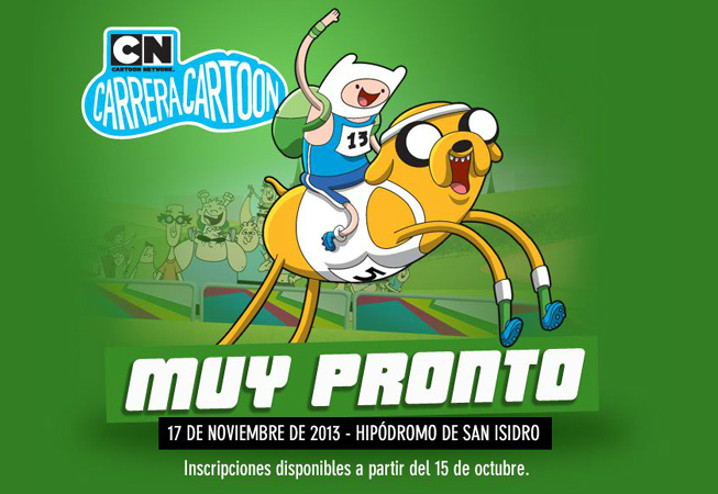 Carrera Cartoon 2013