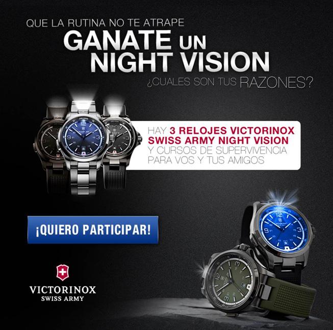 Concurso Victorinox Night Vision