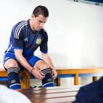adidas - Camiseta alternativa Selección Argentina 1