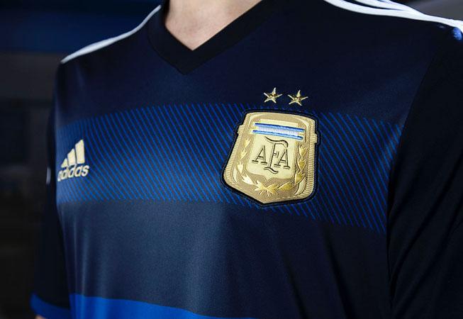 adidas - Camiseta alternativa Selección Argentina 4