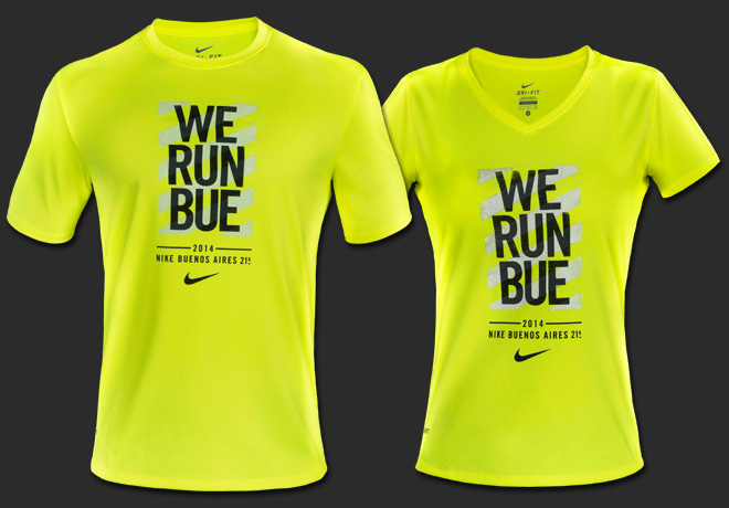 Nike - Remeras We Run Bue 21K