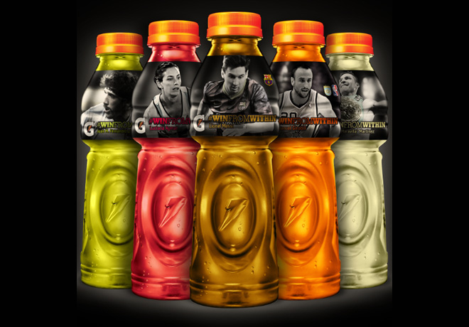 Gatorade - Botellas