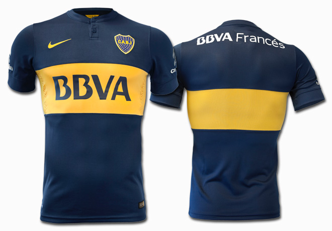 Nike - Camiseta Boca 2014 1