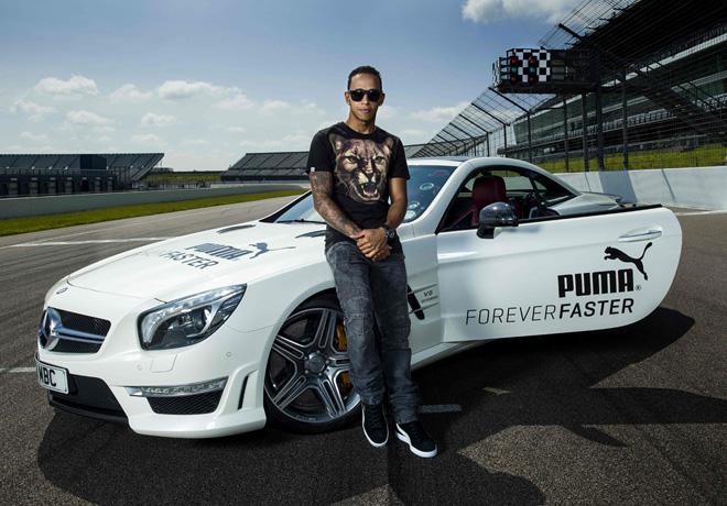 Puma - Forever Faster - Hamilton - Corden 1