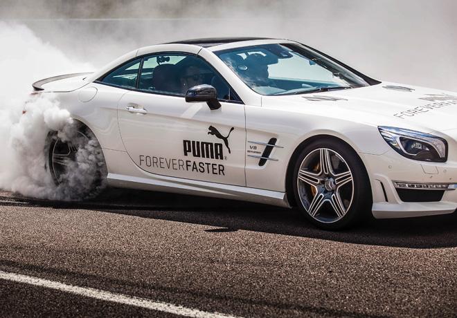 Puma - Forever Faster - Hamilton - Corden 3