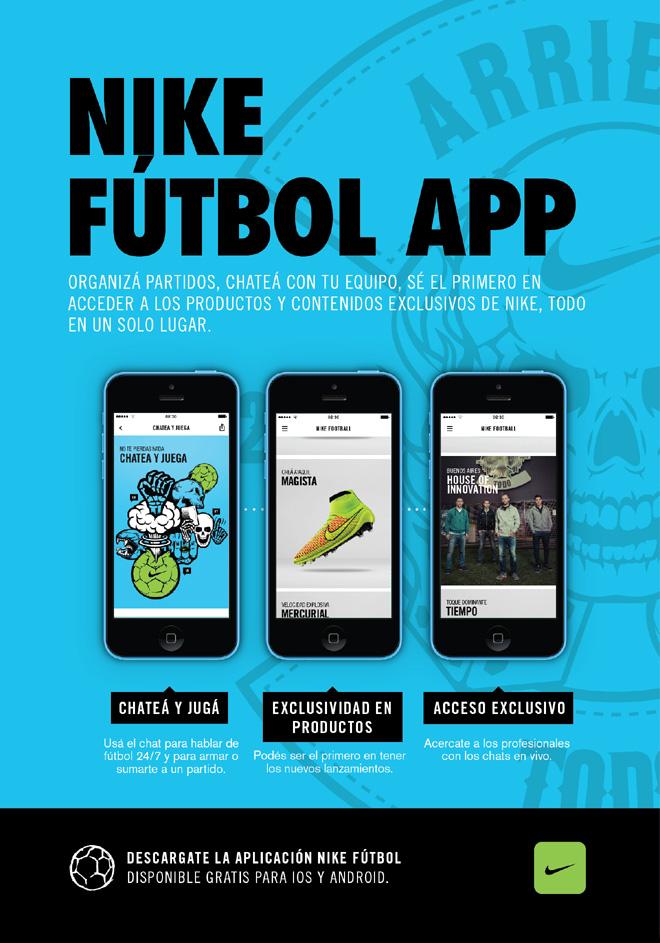 Nike Futbol - App