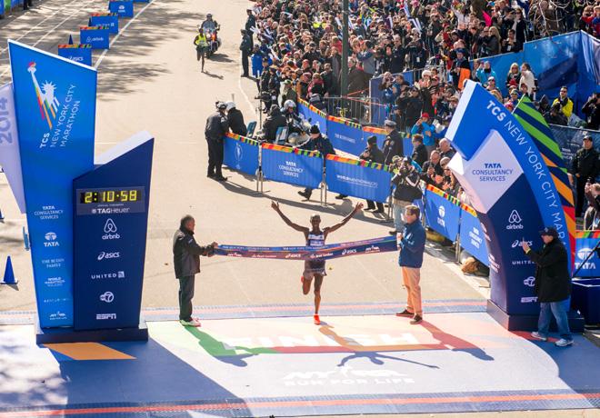 TAG Heuer - NY Marathon