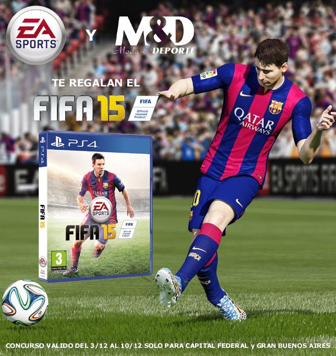 Concurso FIFA15 2