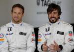 TAG Heuer - Formula 1 McLaren - Jenson Button - Fernando Alonso