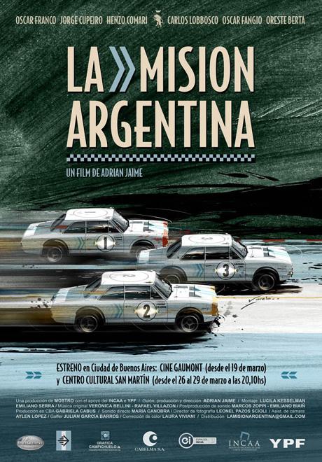 YPF - La Mision Argentina - Afiche