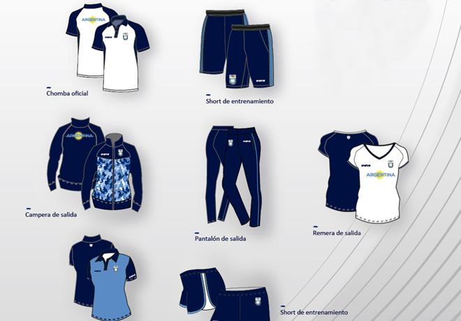 La nueva ropa de Signia para los Juegos Panamericanos de Toronto. 12a1302b712