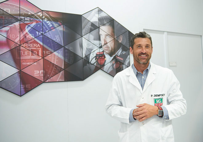 TAG Heuer - Patrick Dempsey 1
