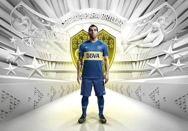 Nike - Camiseta Boca Juniors 2016 - Carlos Tevez 1