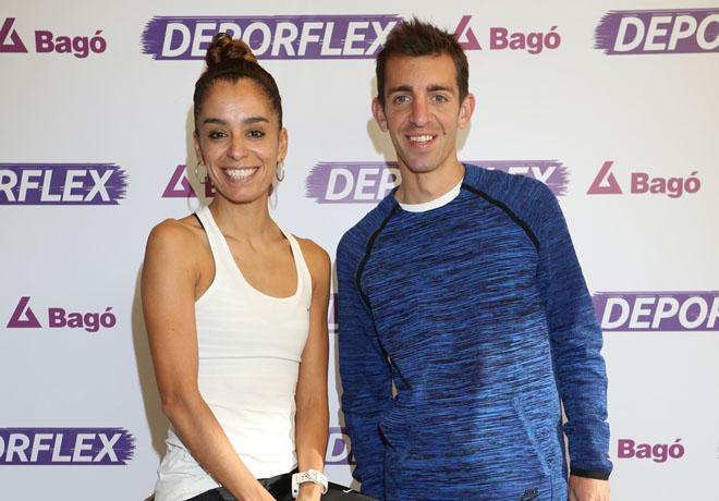 Atletas olímpicos junto a Deporflex.