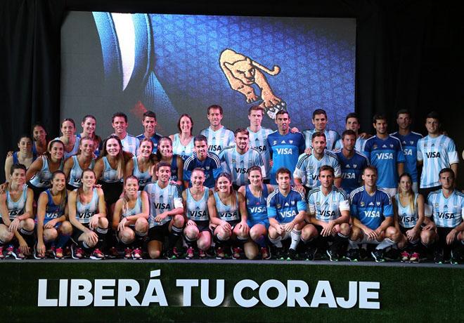 Los seleccionados argentinos de Hockey sobre Césped tienen nueva camiseta.