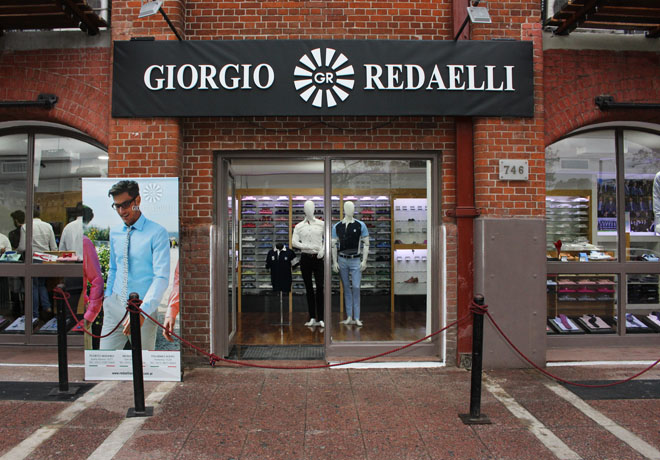 Giorgio Redaelli consolida su crecimiento con innovación, estilo y nuevo local.