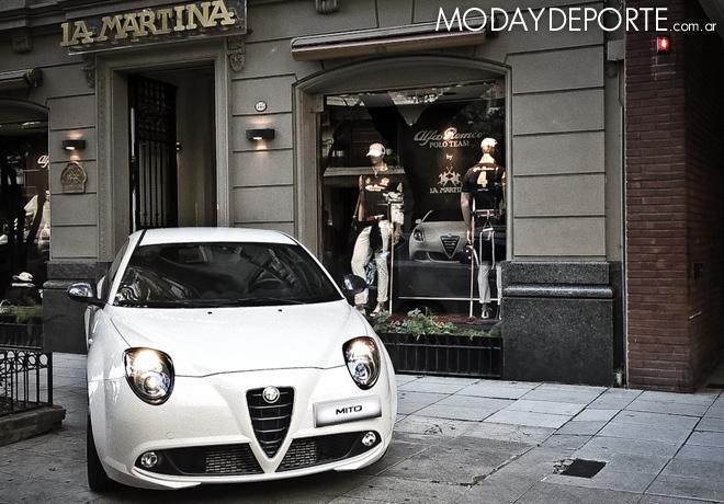 La Martina lanzó una exclusiva colección junto a Alfa Romeo.