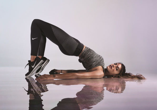 Nike - Zonal Strength Running Tights - Calu Rivero
