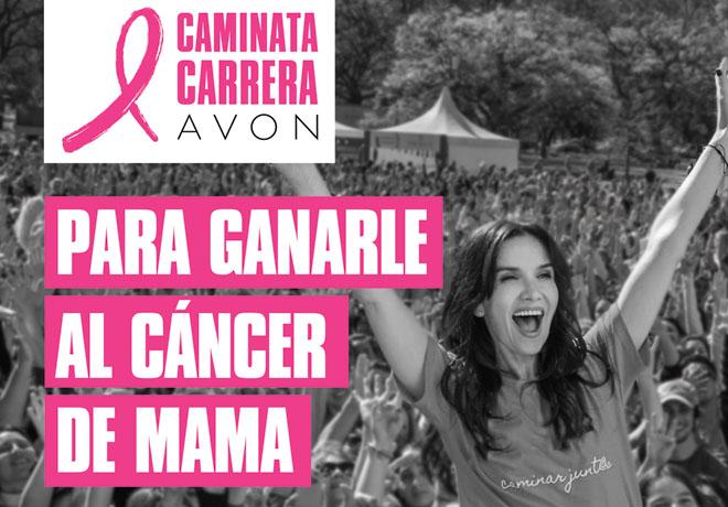 Avon - Fundacion Avon - Caminata - Carrera - Natalia Oreiro - Cancer de Mama-