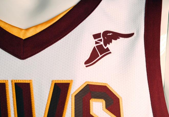 Nike - Goodyear - Cleveland Cavaliers Edicion Asociacion 3