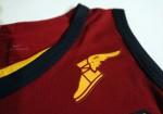 Nike - Goodyear - Cleveland Cavaliers Vino Tinto 2