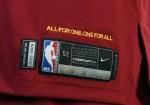 Nike - Goodyear - Cleveland Cavaliers Vino Tinto 3