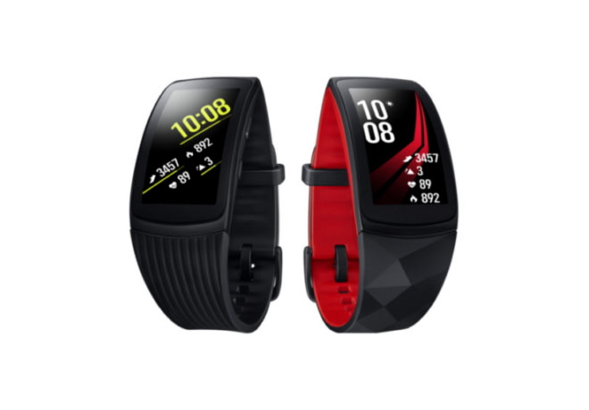 Samsung Electronics - Wearables - Gear Fit 2 Pro