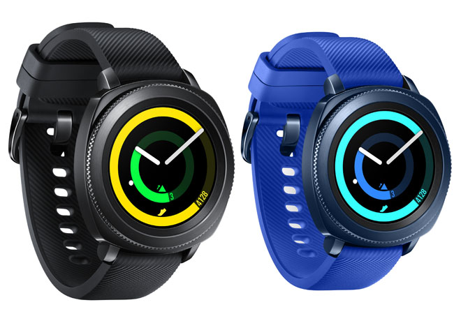 Samsung Electronics - Wearables - Gear Sport - Black - Blue