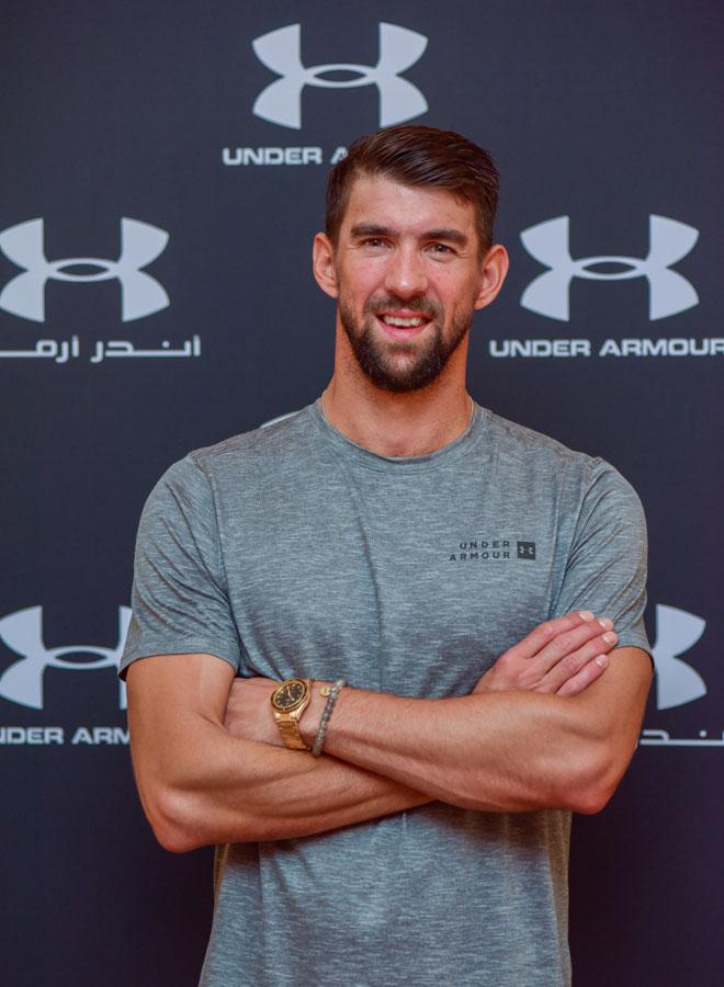 Under Armour desembarca en la Argentina con la visita de Michael Phelps.