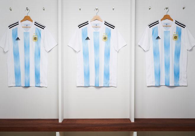 adidas - Camiseta Seleccion Argentina Rusia 2018