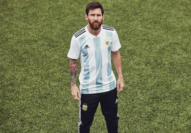 adidas - Lionel Messi - Camiseta Seleccion Argentina Rusia 2018